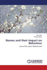Names And Their Impact On Behaviour - 2857253435
