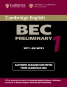 Cambridge Bec Preliminary 1 - 2839873938