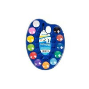 Farby Akwarelowe Prima Art 12 Kolorów + Pędzelek - 2840121416