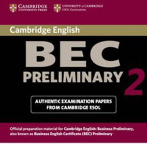 Cambridge Bec 2 Preliminary: : Audio Cd - 2839762310