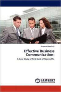 Effective Business Communication - 2857072413
