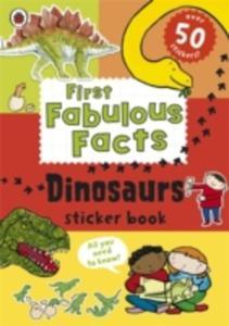 Ladybird First Fabulous Facts: Dinosaurs Sticker Book - 2840151716
