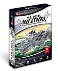 Puzzle 3d Aircraft Carrier Charles De Gaulle - 2840122333