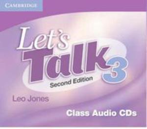Let's Talk 2nd Edition: : L 3 Class Audio Cds (3) - 2839762733