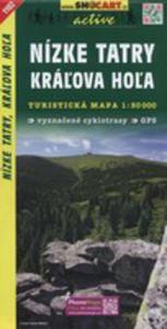Nizke Tatry Kralova Hola Mapa Turystyczna 1:50 000 - 2840271114