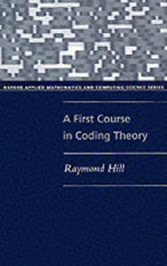 A First Course In Coding Theory - 2849917599
