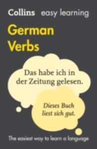 Easy Learning German Verbs - 2840244754