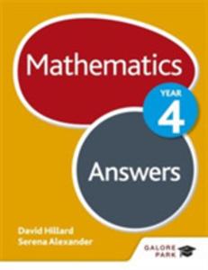 Mathematics Year 4 Answers - 2846937690