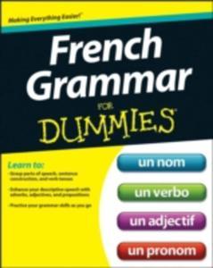 French Grammar For Dummies(r) - 2875457755