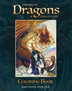 Dreams Of Dragons & Dragon Kin Coloring Book - 2848199139