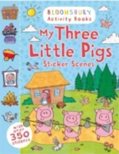 My Three Little Pigs Sticker Scenes - 2860162442