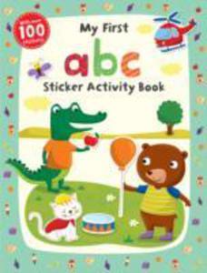 My First Abc Sticker Activity Book - 2840067848