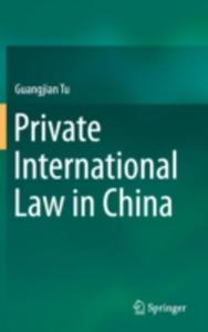 Private International Law In China - 2843702001