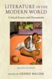 Literature In The Modern World - 2845331977