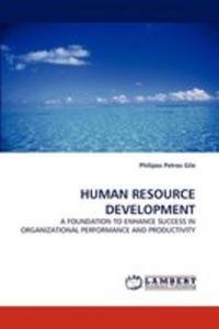 Human Resource Development - 2870701775