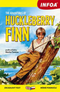 The Adventures Of Huckleberry Finn / Dobrodružství Huckleberryho Finna - Zrcadlová Četba - 2840056274