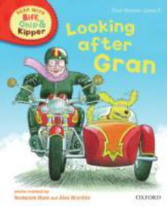 Oxford Reading Tree Read With Biff, Chip, And Kipper: First Stories: Level 5: Looking After Gran - 2848176068