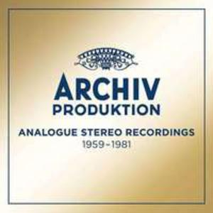 Archiv Produktion Analogue Stereo Recordings 1959-1981 - 2870923146