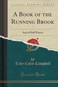 A Book Of The Running Brook - 2852889004