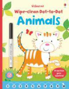 Wipe - Clean Dot - To - Dot Animals - 2860223271