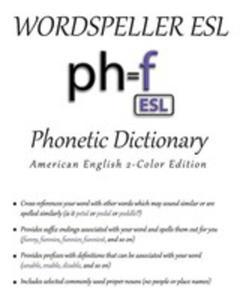 Wordspeller Esl Phonetic Dictionary - 2852943031