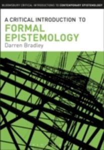 A Critical Introduction To Formal Epistemology - 2839994614