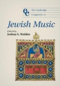 The Cambridge Companion To Jewish Music - 2849930674