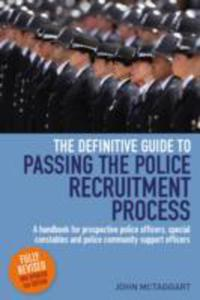 Definitive Guide To Passing The Police Recruitment Process - 2843688763