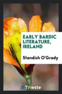Early Bardic Literature, Ireland - 2861357943