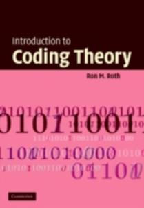 Introduction To Coding Theory - 2849914798