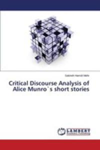 Critical Discourse Analysis Of Alice Munros Short Stories - 2857099436