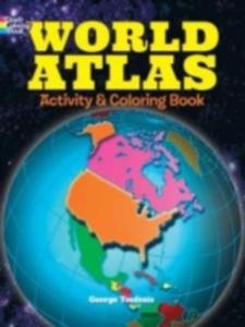 World Atlas Activity And Coloring Book - 2850519918