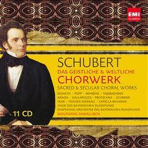 Schubert: Das Geistliche & Weltliche Chorwerk - Sacred & Secular Choral Works - 2839278293