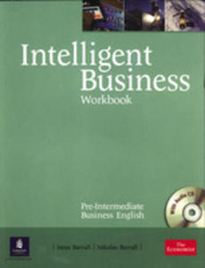 Intelligent Business Pre-intermediate - Workbook Plus Audio Cd [Zeszyt �wicze� Plus Audio Cd] - 2839265891
