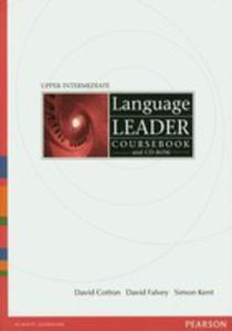 Language Leader Upper Intermediate - Coursebook Plus Cd-rom [Książka Ucznia Plus Cd-rom] - 2839265754