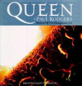 Queen + Paul Rodgers. Tom 24. Return Of The Champions. Vol. 2 + Cd - 2868690612