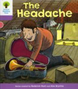 Oxford Reading Tree: Level 1 + : Patterned Stories: Headache - 2839861682