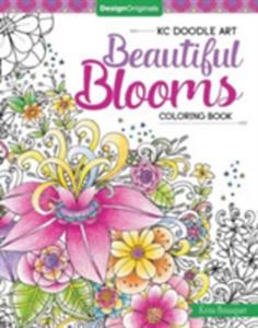 Kc Doodle Art Beautiful Blooms Coloring Book - 2850527572