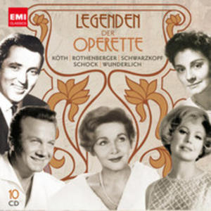 Legenden Der Operette ( Limited) - 2839297400