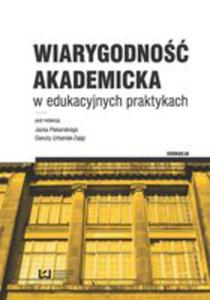 Wiarygodność Akademicka W Edukacyjnych Praktykach - 2846957969