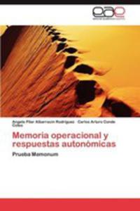 Memoria Operacional Y Respuestas Autonomicas - 2870824052