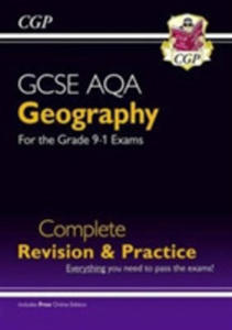 New Grade 9-1 Gcse Geography Aqa Complete Revision & Practice (With Online Edition) - 2849522031