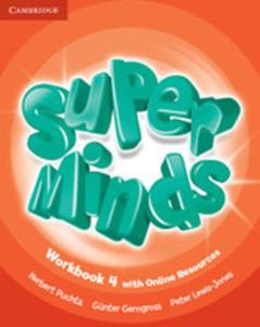 Super Minds 4 Workbook +online - 2870620289