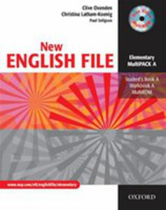 New English File Elementary Multipack A - 2839634158
