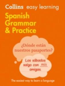 Easy Learning Spanish Grammar And Practice - 2840245477
