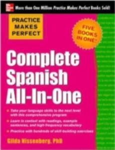 Practice Makes Perfect Complete Spanish All - In - One - 2841695787