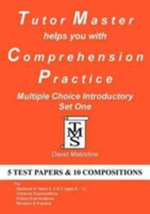 Tutor Master Helps You With Comprehension Practice - Multiple Choice Introductory Set One - 2839958611