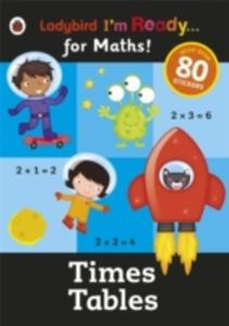 Times Tables: Ladybird I'm Ready For Maths Sticker Workbook - 2857049793