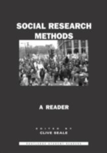 Social Research Methods - 2849924075
