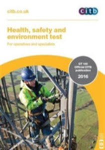 Health, Safety And Environment Test For Operatives And Specialists: Gt 100/16 - 2846076634